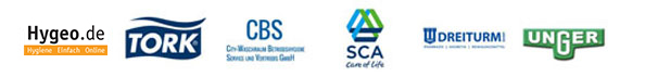 Alles Clean 24 Partner: Dr. Hyg, Tork, CBS, SCA, Dreiturm!, Unger