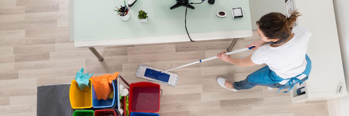 Reinigungsservice Leistungen